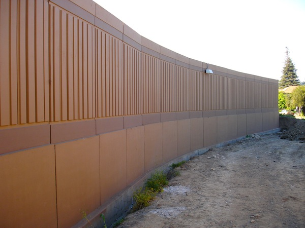 SoundSorb Panels Precast with Crash Barrier